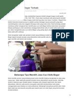 Jasa Cuci Sofa Bogor Terbaik - 0856 240 298 36 ( Call / WA )
