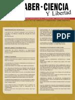 Saber Ciencia y Libertad Indexada 2017 2