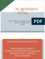 Perfil Biofisico Fetal Exposicion1