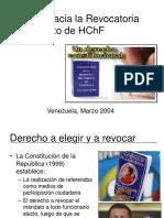 Proceso Revocatorio HChF - 2
