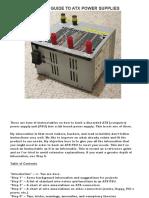 A Maker Guide to Atx Power Supplies