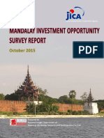 En Mandalay Investment Opportunities Survey Final Report 160217 Mic Jica Mmrd