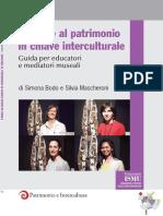 BODO, Simona, MASCHERONI, Silvia. Educare Al Patrimonio in Chiave Interculturale