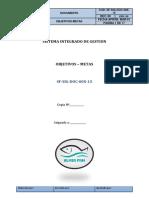 SF SIG DOC 00X 15 (Objetivos Metas)