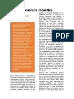 Secuencia Didáctica-