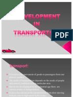 Development in Transportation