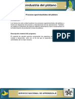 Material Unidad 3.Docx Procesos Agroindustriales de Platano