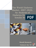 World Diabetes Drug Insuline Market