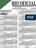 Diario Oficial 04-01-2018