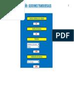7.- Diseño en Secciones Transversales