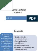 Sistema Electoral P Blico