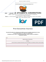 22nd Ios Pg Students Convention