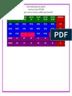 Jadual Pusat Tuisyen Suka Excel 2018