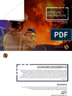 Providing Bush Firefighters With ReX system