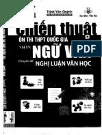 Chiến Thuật Ôn Thi THPT QG Môn Ngữ Văn - Chuyên Đề Nghị Luận Văn Học - Trịnh Văn Quỳnh