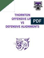 O Line vs Defensive Alignments