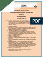 Actividad No 06 Comprender Informes Escritos Sencillos y Cotidianos en Inglés. Fernanda