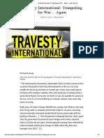 Amnesty International_ Trumpeting for War… Again — Gilad Atzmon