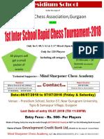 Presidium School Rapid Chess