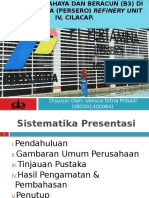 Presentasi sidang kerja praktek pertamina RU IV 2017