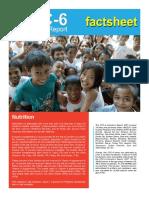 Nutrition fact sheet