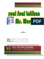 Soal Latihan Ms Word
