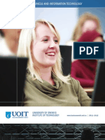2011-2012 Faculty of Business and Information Technology Viewbook