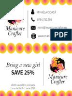 Manicure Crafter Carte de Vizită