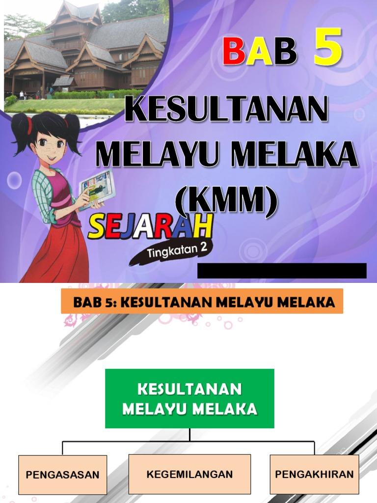 Bab 5 Kesultanan Melayu Melaka