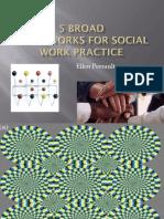 Frameworks for Social Work