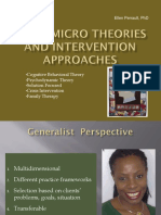 Micro Theories and Intervention