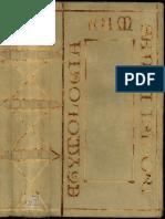 Etimología, San Isidoro de Sevilla, manuscrito s.vi