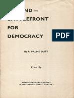 Ireland — Battlefront for Democracy