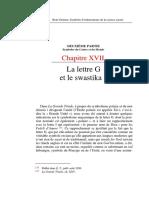 René Guénon - La Lettre G Et Le Swastika