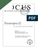 FOCUS 2010 Vol. 5 - Psicoterapia (I)