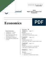 Ravenswood 2014 Economics Trials