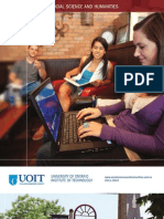 2011-2012 Faculty of Social Science and Humanities Viewbook