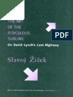 S. Zizek, The Art Of The Ridiculous Sublime.pdf