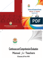 Continuous and Comprehensive Evaluation Mannual for Teachers Classes VI to VIII.pdf