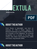 Poetry - A Textula