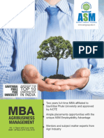 IPS - MBA Agribusiness Management