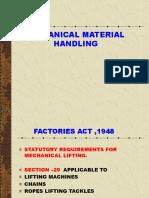 Mechanical Material Handling