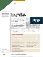 How Should We Manage GERD