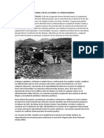 Informacion de Post Guerra