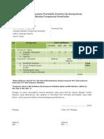 Verifikasi Dokumen Portofolio 5 Mei 2017