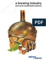 Steam & Condensate System for Brewing Industry