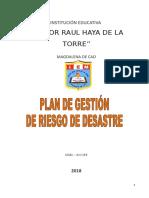 Plan de Gestion de Riesgo