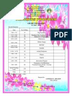Classprogram Second Sem Final