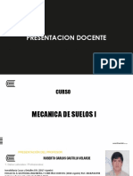 PRESENTACION DOCENTE