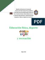 Educación Física, Deporte y Recreación